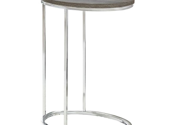 Alex End Table (Taupe)