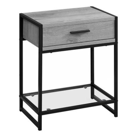 Elena End Table (Grey)